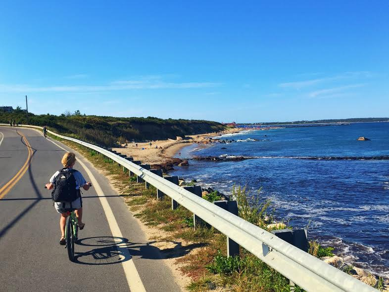 Bike Riding Block Island
