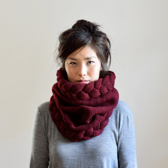 super chunky scarf
