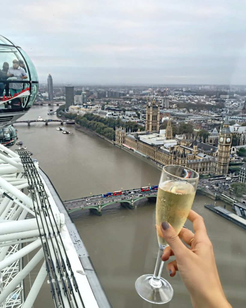 champagne-london-eye