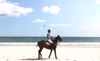Beach Polo at the Ocean House